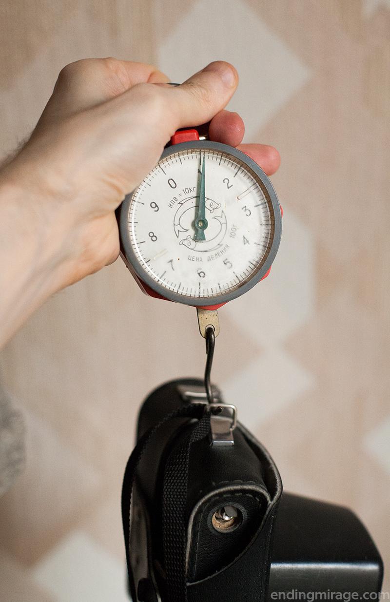 Вес камеры Зенит-ЕТ