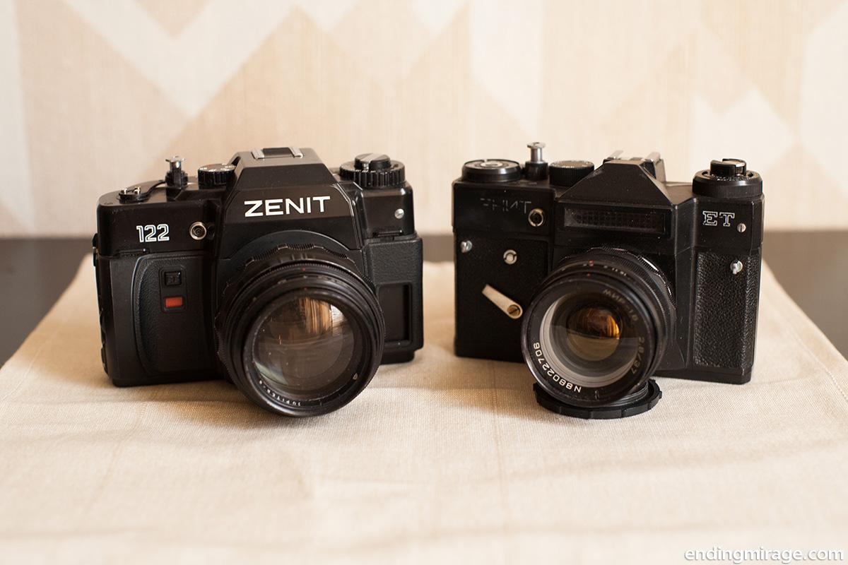 Зенит-122, Зенит-ЕТ, Юпитер-9, Мир-1В